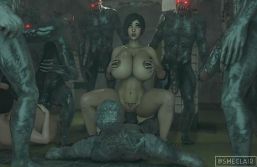 EclairSM collection [oral sex,interracial,3D Porn Comic]