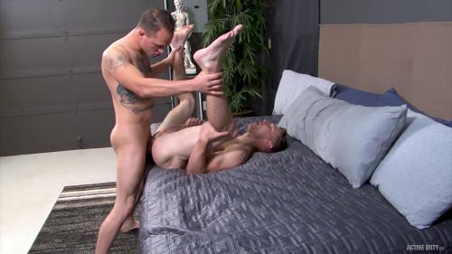 Elye Black and Richard Buldger Flip–Flop Fuck (720p,1080p) [Gays,Elye Black,69,Big Dick,Smooth]