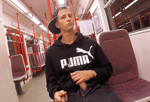 EastBoys Part One In the subway and handjob - Thomas Fiaty