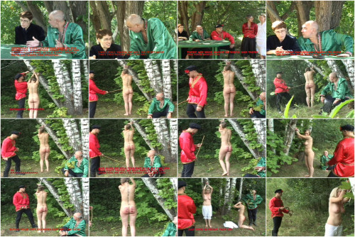 Russian Slaves Punished At Wood