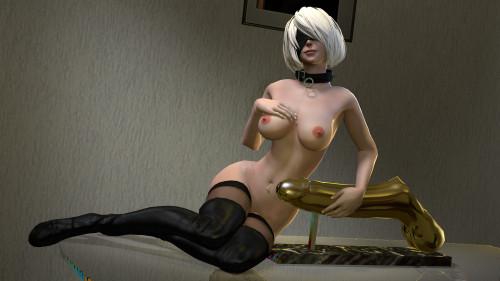 AxcellSFM collection [3D Porn Comic,lesbian,vaginal sex]