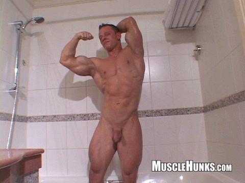 Male Bodybuilders [Gay Solo,posing,masturbation,solo]