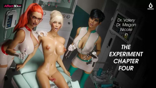 The Experiment Chapter Four [2021,BDSM,Cosplay,Big Tits]