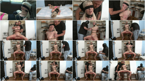 Taut restraint bondage, spanking and soreness for lewd golden-haired part FIRST Full HD 1080p