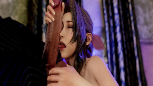 Invitation - Scene 2 - Aerith Secret - Full HD 1080p