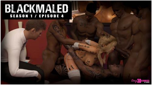 Blackmaled Comics Collection [masturbation,group sex,interracial]