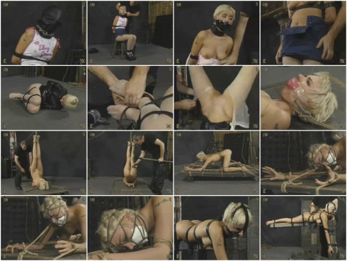 Masked and Bound Slave