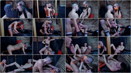 YoungBastards - Shlong villein Ricko acquires a lesson in obedience 1080p