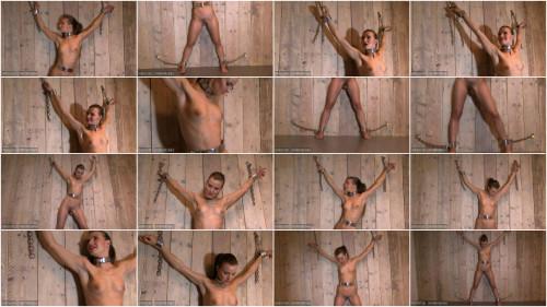 Alina undressed and manacled
