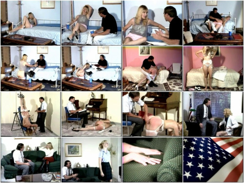 American Spanking Classics #10 - Sore Subject & Hitchhiker Spanked Number 2 DVD