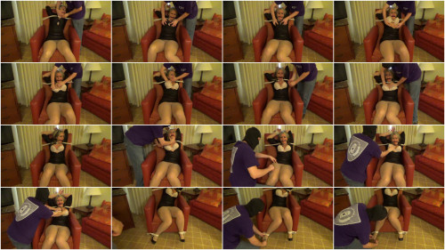 Adara Tied, Groped and Tickled