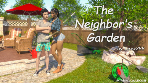 The Neighbor's Garden [big breasts,cheating,deepthroat]