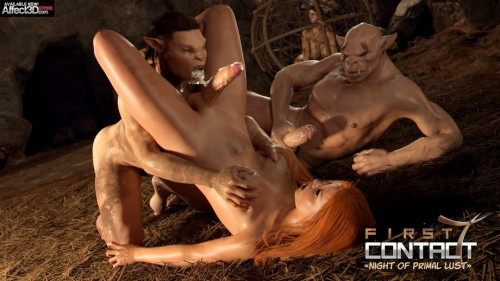 First Contact v 1-11 [Lesbian,Expansion,Huge Cock]