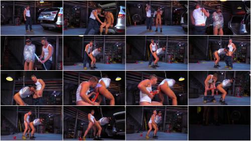 Bondage Garage, Scene 01: Brian Bonds, Eli Lewis