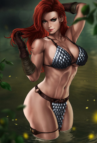 Dandon Fuga Part 3 [Monster,Big tits,Striptease]