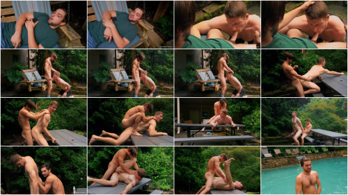 JR - Too Busy To Get Busy: Johnny Rapid, Aiden Asher Bareback