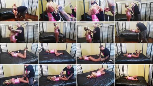 SBound - Amber Deen.. Tied Up in Pink Satin