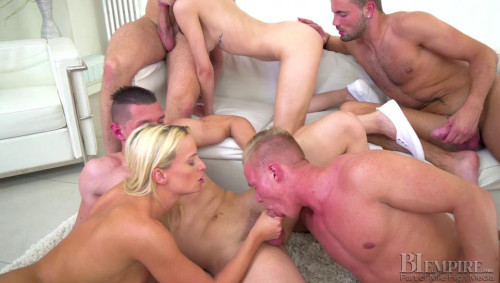 Bi Orgies part 2 [2017,Orgies,Bi Empire,Billie Star,Bisexual Gonzo Anal Orgy]