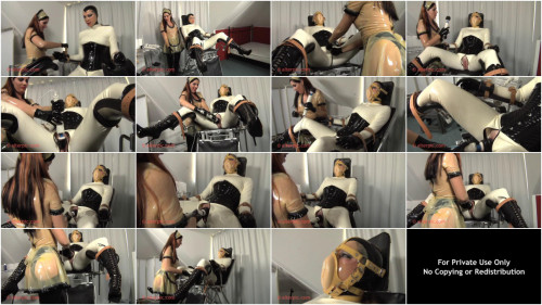 Multiple Orgasms in the Gyno Questioning Chair - Anna Rose & Amaranth LaBlanche
