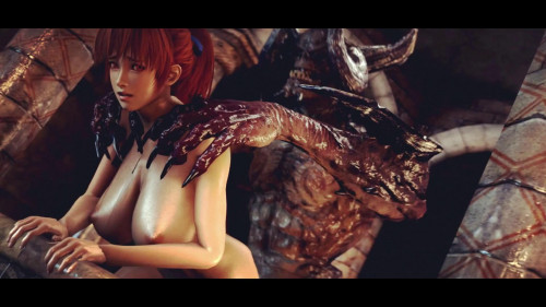 Big Tits Kasumi In Hell Fuck [2018,Creampie,Anal,Hentai]
