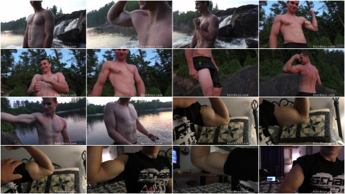EastBoys - Dylan - Outdoor - Posing and Flexing