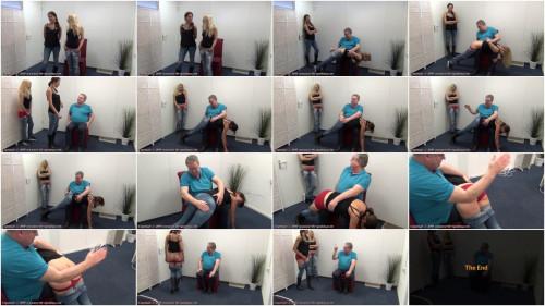 Aaliyas first spanking