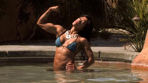 Gemma Santos - Fitness Model [2018,Female Muscle]