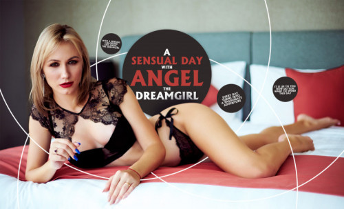 A Sensual Day with Angel the Dreamgirl [2020,teasing,deep throat,Animation]