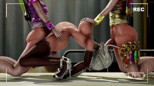 Birdway Futanari 3D Porn Pack part 2 [2019,Anime and Hentai,Big Dick,Futanari,Creampie]