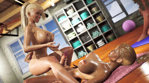 Yoga Class - Tantric Sex Basics [2020,3D,All sex]