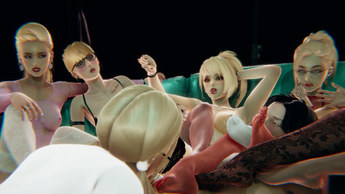 Blonde Heaven - Ivana [harem,3D Porn Comic,handjob]