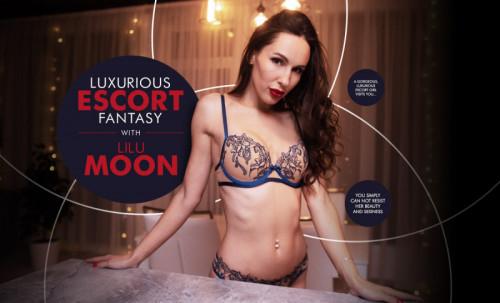 Luxurious Escort Fantasy with Lilu Moon [2020,Ball-sucking,massage,POV]