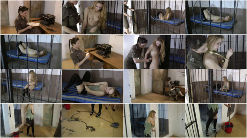 Hard tying, domination and predicament for sexually excited slavegirl