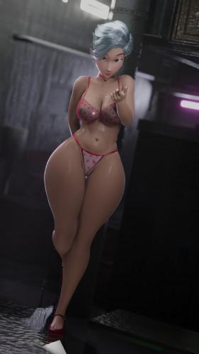IGeneralButchI [blowjob,anal,3D Porn Comic]