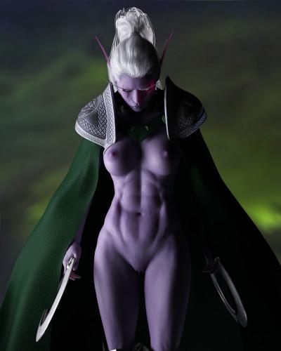 DarkenDen Art [world of warcraft,elf,fantasy]