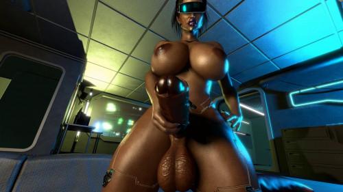 Cyborg scene 3 [2020,All sex,3D]
