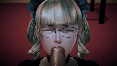 Pretty maid [3D Porno,All sex,blowjob,3D]