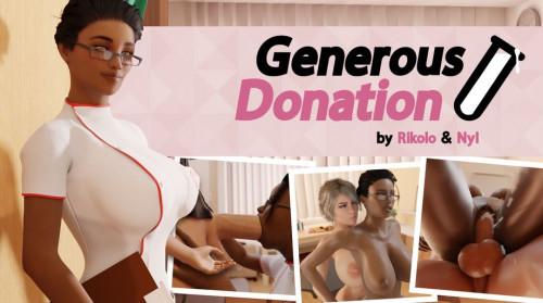 Generous-Donation [2021,3DCG,Creampie,Oral]