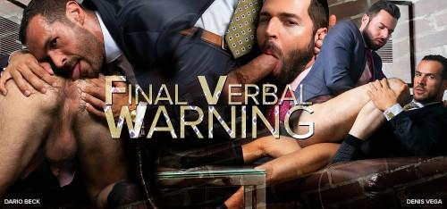 MAP - Final Verbal Warning - Denis Vega & Dario Beck (720p)