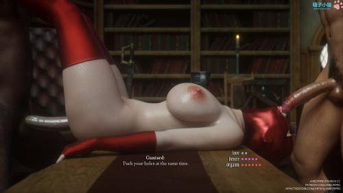 Jared999D - Fallen Lady vol 4 [jared999d,deepthroat,3D Porn Comic]