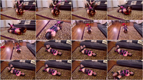 Londyn Helpless Hogtied