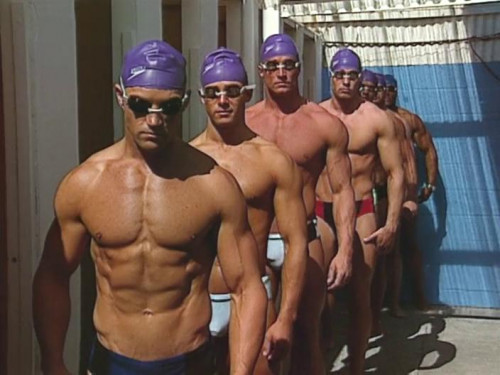 College Swim Team No Suits Required