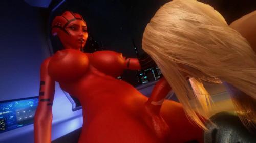 Futa Asari Foursome Taker [2021,All sex,3D]