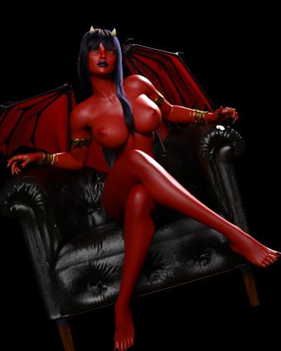 Augustus99 [daemon girl,lesbian,erotic]