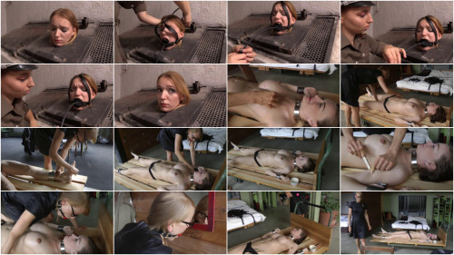 Tight tying, suffering and predicament for sexy model Full HD 1080p
