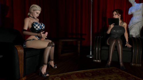 Seline and Caroline - An Unusual Encounter [2018]