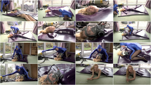 Tight tying, domination and pain for hawt hawt blond HD 1080p