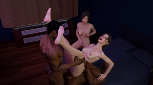 Sanmie3d [hardcore,sex in gym,porn parody]