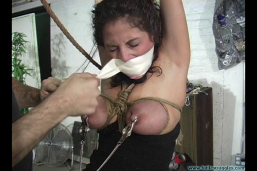 Crying out for help part 6 [2016,BDSM,Futile-Struggles,Zipties,Secretary,Rope]