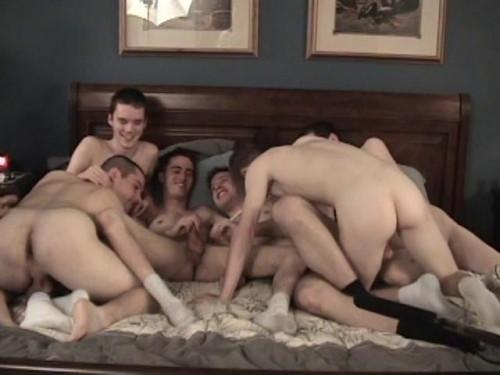 La escena de la tarde de Orgy de Marc 3